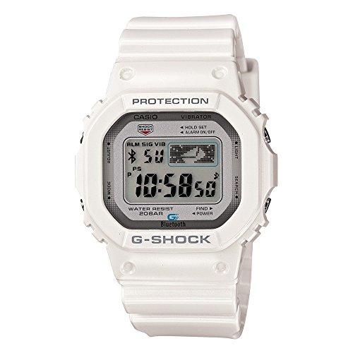 Montre Casio G-Shock Bluetooth Blanche GB-5600AA-7ER