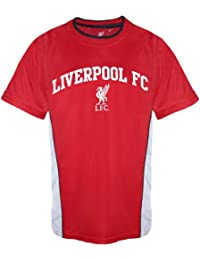 Liverpool FC Official Football Gift Infants Home Kit Training T-Shirt Red