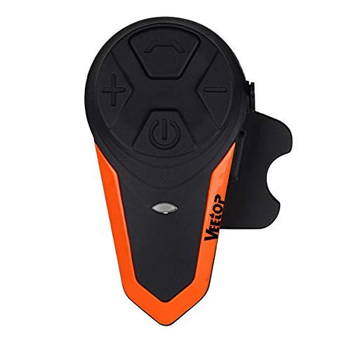 Intercomunicador Bluetooth Veetop para Casco de Moto 1000M / Impermeabilidad - Paquette 1