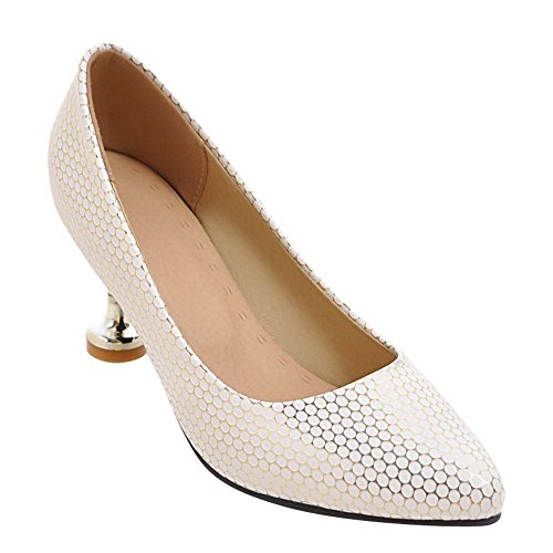 Mee Shoes Damen elegant high heels Geschlossen Pumps