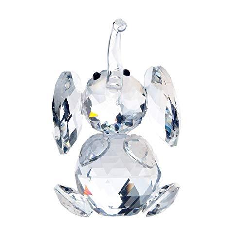 Figura de cristal H&D, con forma de elefante
