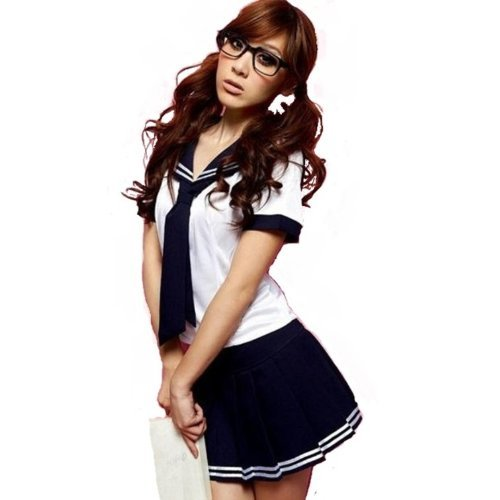 Kostüm Cute Girl School - Sailor cosplay innocent school schoolgirl school uniform (japan import)