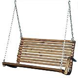 ASS Sitzbank 2-Sitzer für Hollywoodschaukel aus Holz Lärche Modell: SEAT-Rio (ohne Gestell!!) von