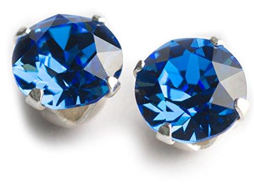 SWAROVSKI Kristall besetzter Ohrstecker aus 925er Silber T20-9
