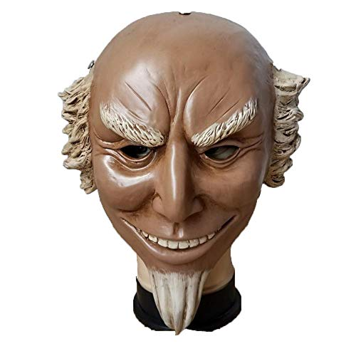LXIANGP Uncle Sam Alte Kopf Maske Cos Human Clearance Programm Film Cosplay Halloween Maske Horror