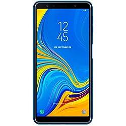 "Samsung Galaxy A7 - Smartphone de 6"" (Octa Core 2.2 GHz, RAM de 4 GB, Memoria de 64 GB, cámara DE 24+5+8 MP, Android) Color Azul"