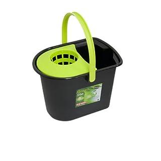 Araven 949669 - Black mope bucket 15l