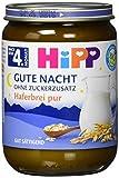 HiPP Gute Nacht Haferbrei pur, 6er Pack (6 x 190 g)