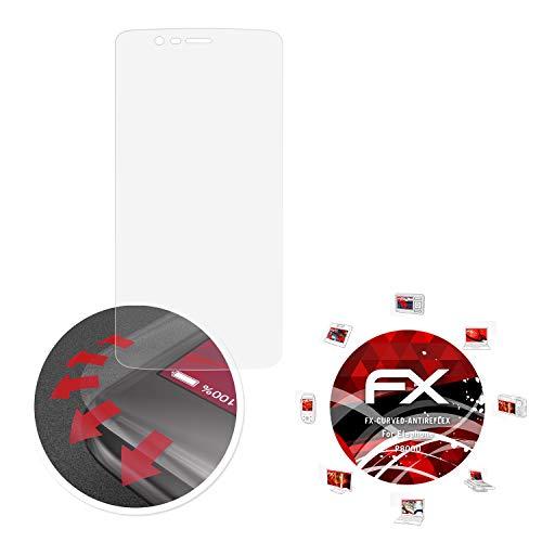 atFolix Schutzfolie passend für Elephone P8000 Folie, entspiegelnde & Flexible FX Bildschirmschutzfolie (3X)