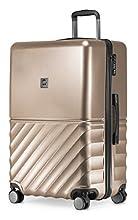 HAUPTSTADTKOFFER Boxi - Hartschalen-Koffer Koffer Trolley Rollkoffer Reisekoffer 4 Rollen, TSA, Bagaglio a mano 75 centimeters 108 Oro (Gold)