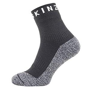 SealSkinz Soft Touch Ankle Length Socks Black/Grey/White 2019 Socken