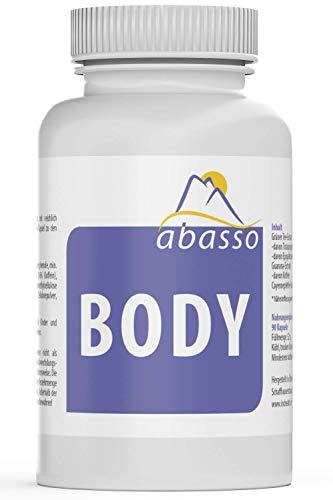 abasso BODY / Grüner Tee, Guarana, Cayennepfeffer Extrakt / 90 Kapseln