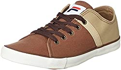 Fila Mens Ristoro Brown and Beige Sneakers - 6 UK/India (40 EU)