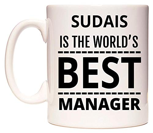 SUDAIS Is The World's BEST Manager Taza por WeDoMugs