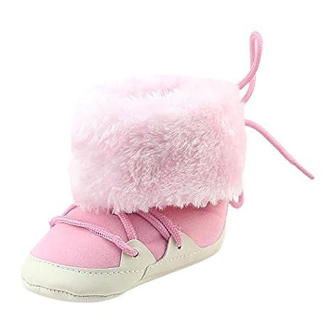LCLrute Qualität Mode Kleinkind Neugeborene Baby Jungen Krippe gebürstet Stiefel Soft Sohle Prewalker Warm Schuhe (12, (Chelsea Girls Schuhe)