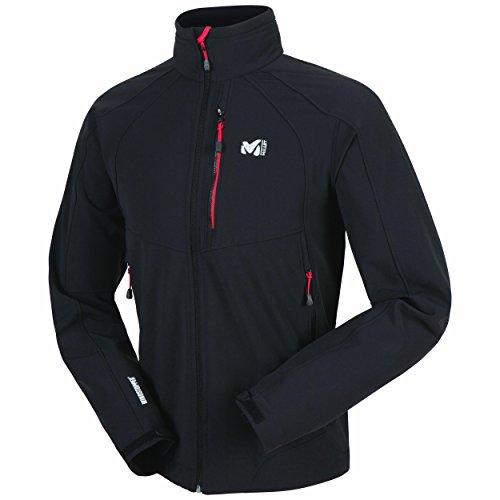 Millet Softshelljacke Men's W3 Pro WDS Jacket Schwarz