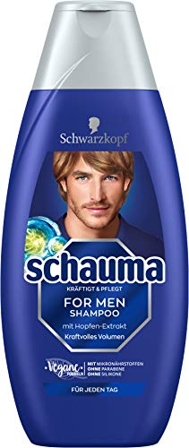Schwarzkopf Schauma Shampoo For Men, 1er Pack (1 x 400 ml)