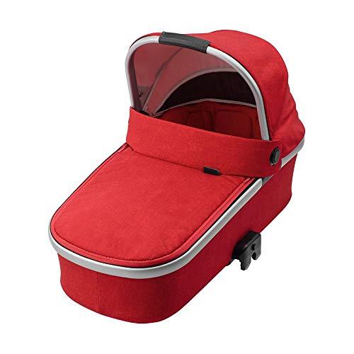 Maxi-Cosi Oria Babywanne, ab der Geburt bis circa 6 Monate (0-9 kg) Kinderwagenaufsatz passend für Kinderwagen Buggy Nova, Stella, Adorra, Dana, nomad red