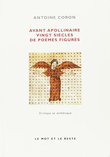 Avant Apollinaire : Vingt sicles de pomes figurs