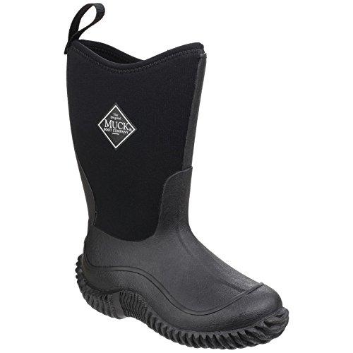 Muck Boots Hale, Bottes et Bottines de Pluie Mixte Enfant, Noir/Bleu
