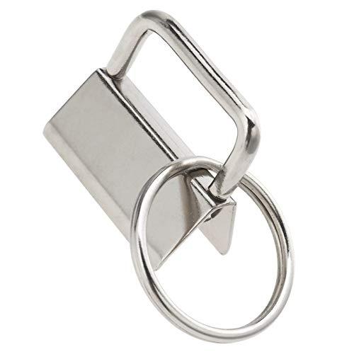 40x 1 Zoll Metall Schlüsselanhänger Hardware mit Schlüsselring für Schlüsselband Gürtel Linie Gurt - Gurt-hardware