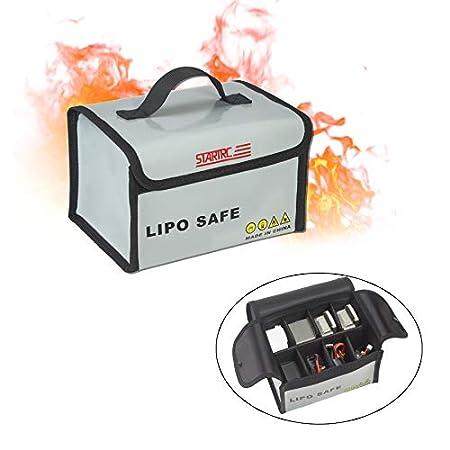 STARTRC Lipo Akku Tasche Feuerfest Sicherheitstasche für DJI Mavic Mini/Mavic 2/ Mavic Air 2/ Spark/Mavic Pro/Mavic Mini…