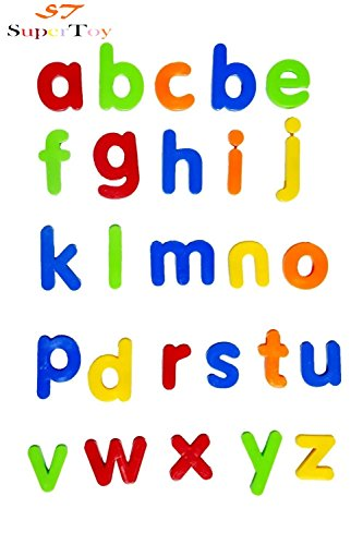SuperToy Magnetic Early Education Learning Toy (ABCD Small Letter)