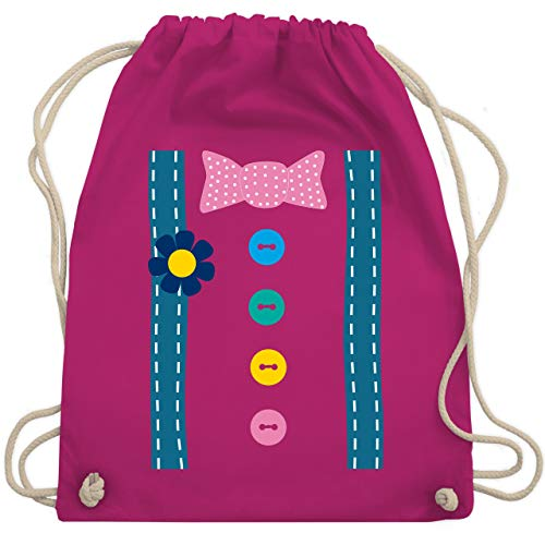 - Clown Kostüm - Unisize - Fuchsia - WM110 - Turnbeutel & Gym Bag ()