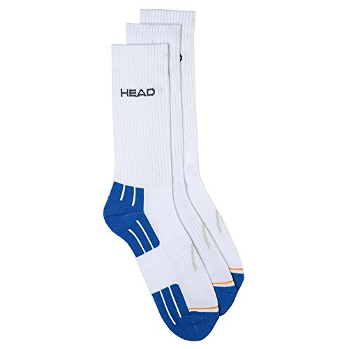 HEAD Performance Crew 3p Unisex Chaussettes de Tennis Mixte
