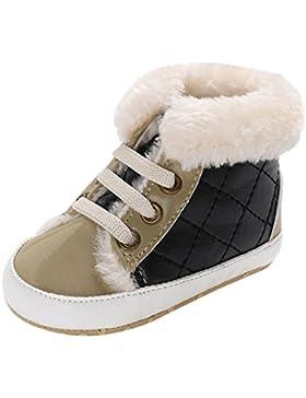 Baby schuhe,Sunyoyo Säuglingskleinkind-neugeborenes Baby-Mädchen-Jungen-weiche alleinige Erwärmungs-Schuhe