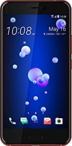 HTC U11 UK SIM-Free Smartphone - Red