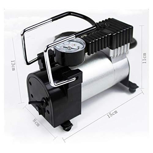 Preisvergleich Produktbild Hermosairis Tragbare Mini Luftkompressor Elektrische Reifen Infaltor Pumpe 12 Volt Auto 12 V PSI Rone Leben