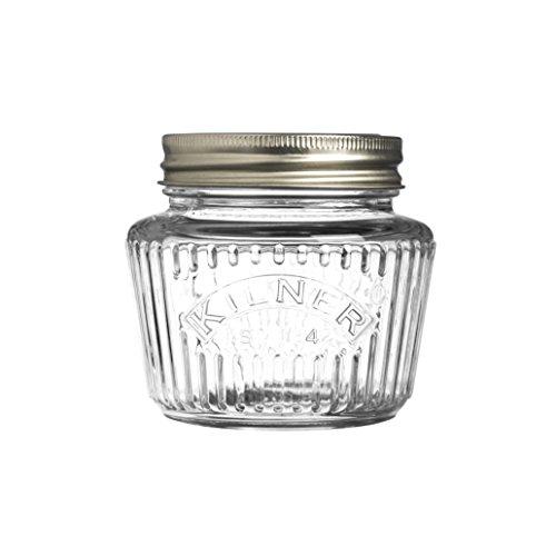 Kilner - Tarro de almacenaje edición aniversario, Clear 0.25L, 0.25 Litre