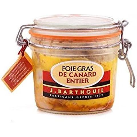 Foie gras de pato entero 180g J. Barthouil por Zapore Jai SL