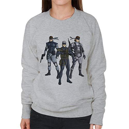 Metal Gear Solid Snake Revolution Women's Sweatshirt Revolution Womens Sweatshirt