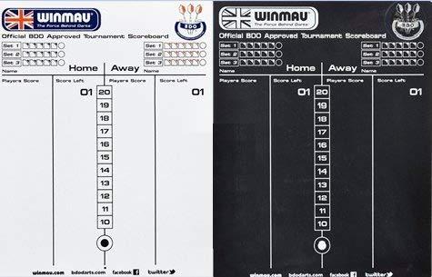Winmau Scoreboard - Schreibtafel inkl. Boardmarker
