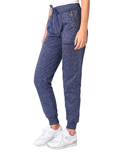 KRISP -  Pantaloni  - Joggers  - Basic - Donna Navy (5465)