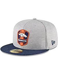 3fa07eeaa3c3 New Era Denver Broncos NFL Sideline 18 Road on Field Cap 59fifty Fitted OTC