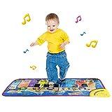 Sonnena Spielzeug, Baby Kinder Karikatur Tiere Musikteppich Keyboard Teppich Touch Play Keyboard Klaviermatte Musical Gesang Fitnessraum Matte Spielzeug Kinder Geschenk (79x35cm)