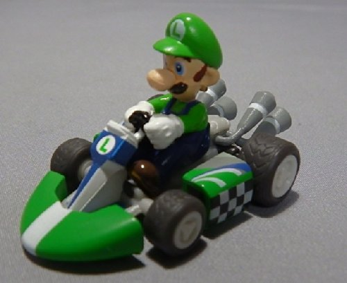 Nintendo wii Super mario kart Display Mini Figure~2.5cm x 5 cm~Luigi