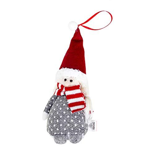 HSKB Weihnachten Deko Plüsch Handgemachte Schwedische Wichtel Santa Dolls Süße Weihnachten Puppen Figur aus Weihnachtsfigur Dwarf Schöneren Weihnachts Deko Urlaub Dekoration Kinder Geschenke