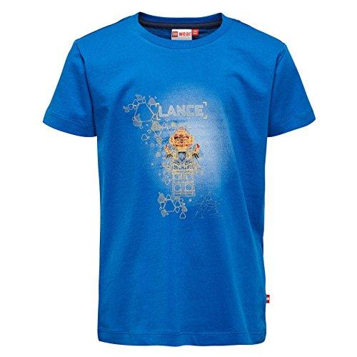 Lego Wear Jungen Lego Nexo Knights Thomas 305 T-Shirt, Blau (Blue 569), 128