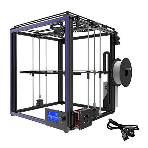 X5S 3D Drucker DIY Kits Aluminium Profildichtung 12864 LCD Controller Bowden Extruder Große Wärmebettplatte Filament 1.75mm