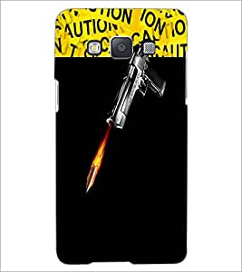 PrintDhaba GUN D-3734 Back Case Cover for SAMSUNG GALAXY E5 (Multi-Coloured)
