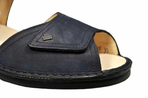 Finn Comfort, 2408-046048, Luxor Sandale Damen, Größe 38, Blau/darkblue
