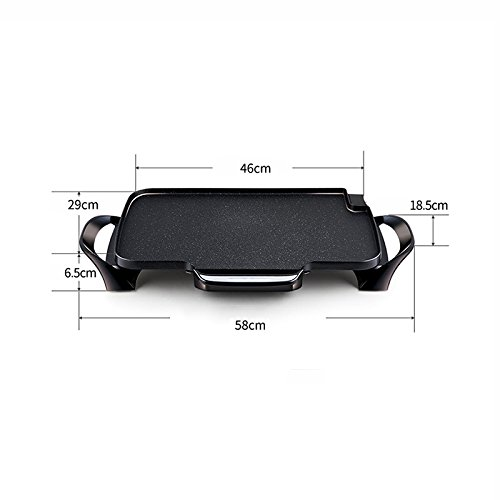 GAOYANG Electric Roasting Tray On Paper Grill Household Electric Smokeless Teppanyaki Multi-function Barbecue Electric Oven