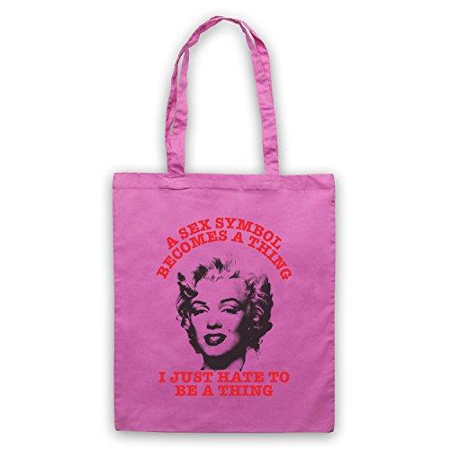 Ispirato Da Marilyn Monroe Sex Symbol Borse Non Ufficiali Del Capo Rosa