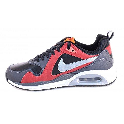 Couro De E Shoes 644463 Kids Air Vermelho Trax Nike Preto Max ma nzv7ggq