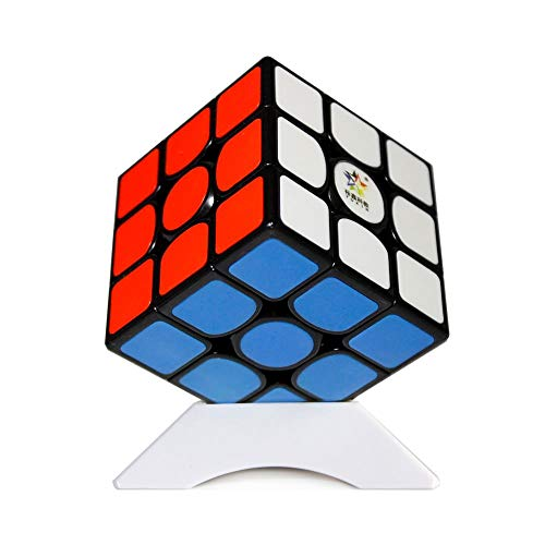 OJIN YuXin Kylin V2 M 3x3 Magic Cube Puzzle Yuxin 3x3x3 V2 M Smooth Cube Yuxin Kylin 3x3 V2 M Velocidad Cube el Juguete con un trípode (Black-Bright Red)