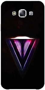 Snoogg Zoyd Single Designer Protective Back Case Cover Forsamsung Galaxy E5